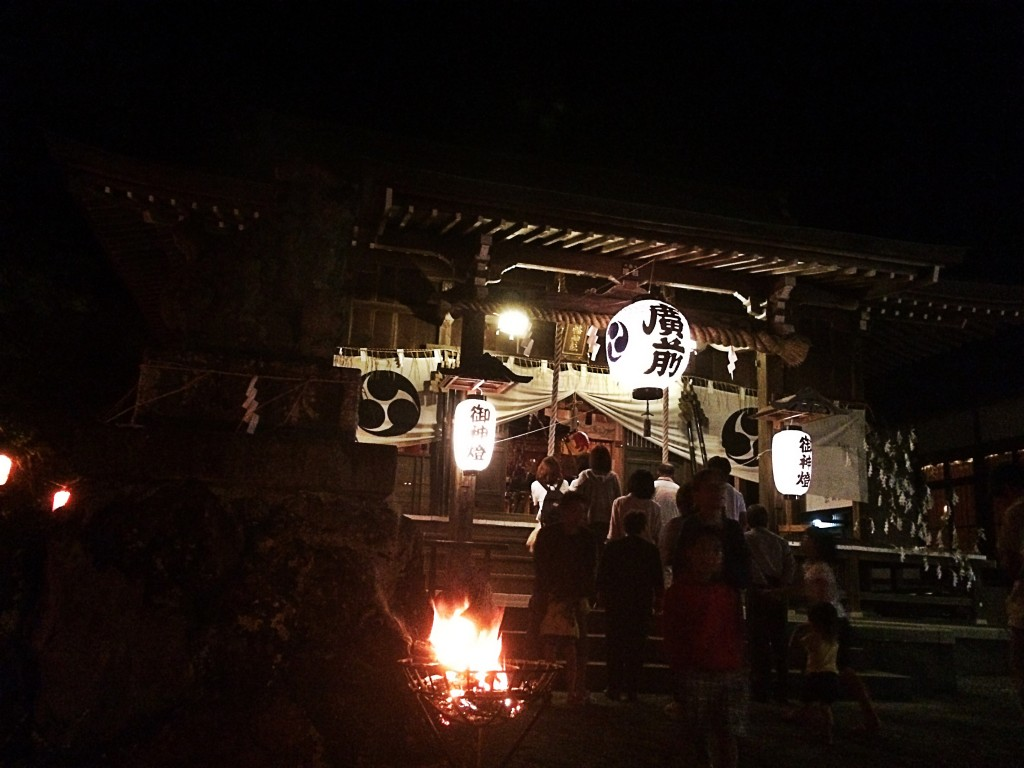藤枝 花倉八幡神社の祭り