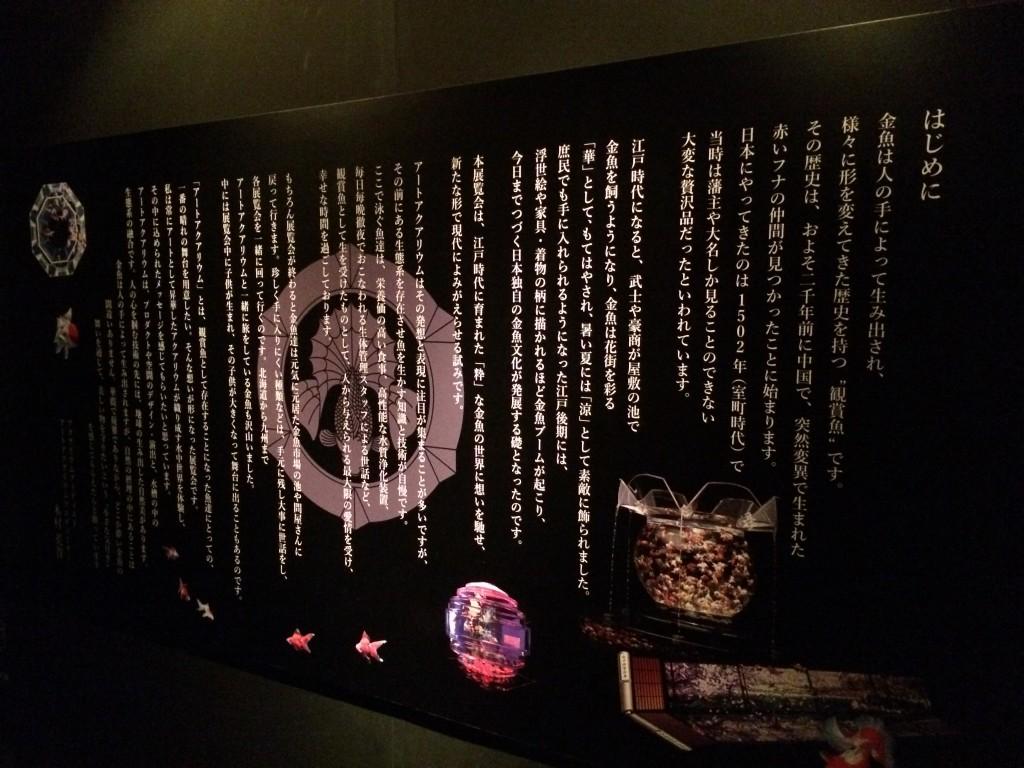 アートアクアリウム展〜名古屋・金魚の雅〜