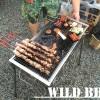 ワイルドですね、BBQ!