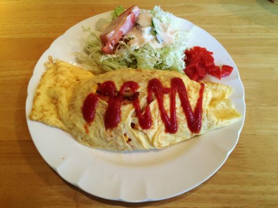 藤枝の喫茶店「あっぷる」に美味しいオムライスを食べに行ってきました!