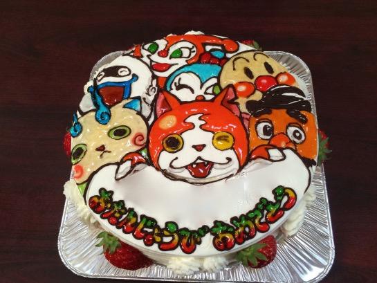 一歳のお祝い ケーキ