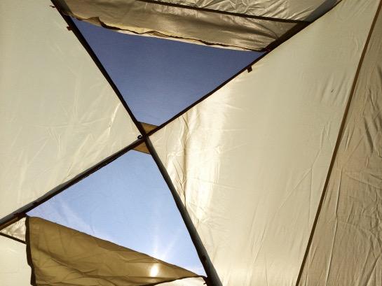 ウールリッチのテント
