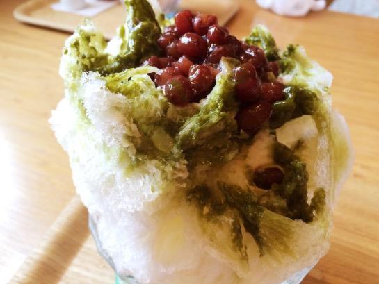 ふくカフェ 天然かき氷