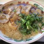 新東名藤枝パーキングエリア。魁力屋のラーメンを食べました。