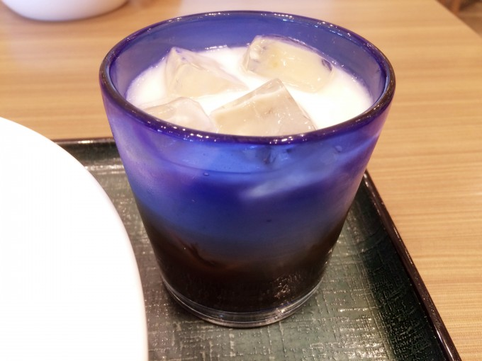 ららぽーと磐田パスタ一丁目 ミルクティー