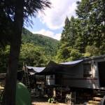 こんな素敵な別荘が欲しかった!藤枝のトレーラーハウスでの夏休み!